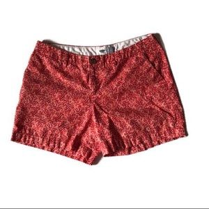 Women's Old Navy Red and White Shorts. Size 6